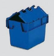 Bac emboitable à couvercle solidaire bleu - 10027