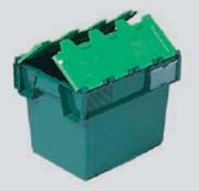 Bac emboitable à couvercle vert - 10040