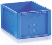 Bac plastique norme Eureka  20 litres - Capacité : 20 L - Dim :L.398 x lg.298 x H.220 mm - Matière : Polypropylène