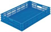 Bac gerbable classique fond ajouré - Capacité : 20 ou 35 L - Dim : L.750 x lg.500 x H.89 mm - Matière : polyéthylène