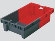 Bac gerbable emboîtable 75 L - Capacité : 75 L - Dim: L.890 x lg.560 x H.235 mm - Matière : polyéthylène