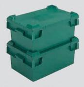 Bac gerbable emboîtable sur couvercle 44 litres - 31047