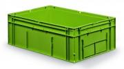 Bac gerbable en polyéthylène 39 L - Capacité : 39 Litres - Dim. ext. : L 594 x l 396 x h 214 mm