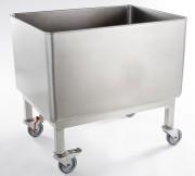 Bac inox mobile - Capacité : 190 litres