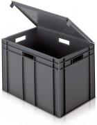 Bac norme Europe 54 litres - Capacité : 54 à 75 Litres - Dimensions extérieures : (L x l x H) : 600 x 400 x 291 à 423 mm