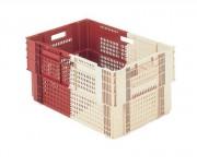 Bac norme europe emboîtable 600x400 - Capacité : 60 litres - Fond plein avec trous d'évacuation