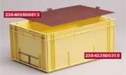 Bac norme europe Galia 594x396 - Bac NE jaune Réf. 236432500310