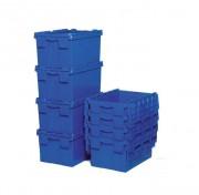 Bac plastique emboitable gerbable - Dimensions l. x L x H. : 400x600 x 310 mm