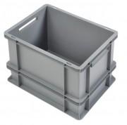 Bac plastique gerbable Norme Europe 30L - Dimensions (Lxlxh) : 400 x 300 x 325 mm