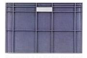 Bac plastique norme europe - Capacité : de 2 à 163 Litres