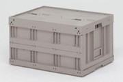Bac plastique pour ordinateurs - Usage : Industriel - Dimensions extérieures (L x l x H) : 800 x 600 x 430 mm
