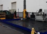 Bac pliable de rétention - Capacité : 7200 litres - Sur mesure