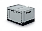 Bac pliable en plastique - Capacité : 21 ou 68 L - Dim: L.400 x lg.300 x H.240 mm - Poids : 1.66 kg