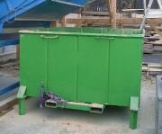 Bac poubelle - Adapté au tri sélectif de déchets industriels