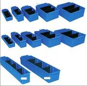 Bac rangement divisible - En polypropylene - 12 formats disponibles