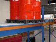 Bac rétention acier de rack - Capacité de bac : de 440 à 1000 L