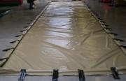 Bac souple autoportant - Zone de rétention d'une capacité de : 27000 litres