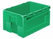 Bac spécial convoyeur 58 litres - Bac 600 x 400 norme europe à porte coulissante
