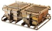 Bac spécial pour lavage industriel - Assure la fermeture des paniers