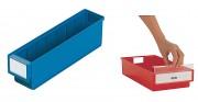 Bac tiroir plastique - Dimensions extérieures (L x P x H) mm : 92 x 300 x 82