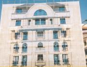 Bâche protection de façade - Protège : calcaire, marbre, enduit, crépis, béton, terre cuite