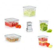 Bacs alimentaires sous vide  - Bacs alimentaires en tritan sous vide