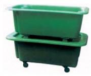 Bacs de manutention 260 litres - Usage : Industriel - Capacité (L) : 260