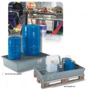 Bacs de rétention polyester - Charge maxi (kg) : de 40 à 1300