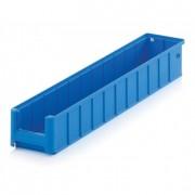 Bacs de stockage polypropylène - Dimensions externes (L x I x H) mm : De 400 x 113 x 85 à 600 x 235 x 145