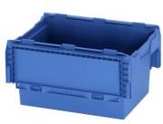 Bacs en plastique gerbables - Dimensions externes (L x I x H) mm : De 312 x 234 x 197 à 800 x 600 x 440