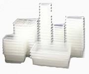 Bacs gastro GN 1/2 polycarbonate pour cuisine professionnelle - Norme : GN 1/2 - Matière : Polycarbonate