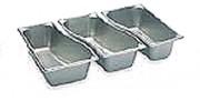 Bacs gastronormes professionnels GN 1/3 - Norme : GN 1/3 - Volume : de 2.1 à 3.6 L