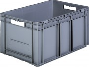Bacs plastiques de stockage - Dimensions extérieures (L x l x H) : De 600 x 400 x 170 à 600 x 800 x 420 mm