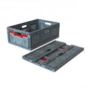Bacs pliables ergonomiques - Norme Europe 600 x 400 mm