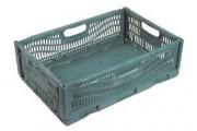 Bacs pliables pour transport - Usage : Industriel - Dimensions extérieures (L x l x H) : 600 x 400 x 190 mm