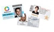Badge d'accès surimpression numérique - Matière du badge : PVC