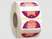 Badge textile - Satin synthétique - Adhésif - Tissu satiné