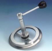 Bague-hublot aseptique Metaclamp avec essuie-glace - 80.SW Suivant DIN 32 676 / ISO 2852