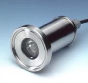 Bague-hublot éclairant pour raccord aseptique DIN 11864 - 83.USL33
