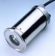 Bague-hublot éclairant tout aseptique Metaclamp DIN 7080 - 80.USL35