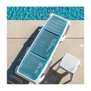 Bain de soleil tablette - Design de rivetage