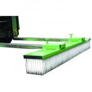 Balai pour chariot élévateur - Dimensions de la brosse : 1500 x 200 mm hauteur 150 mm