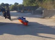 Balai pousseur sur mesure - Sur fourches chariot, télescopique et chargeur