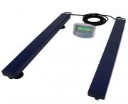 Balance au sol mobile avec indicateur - Capacité :  de 1000 à 3000 Kg