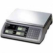 Balance commerciale à colonne - Capacité : de 6 kg x 2 gr à 15 Kg x 5 gr