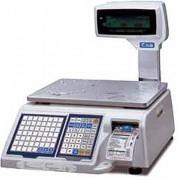 Balance commerciale étiqueteuse - Capacité : de 6 Kg/ 2 gr à 30 Kg x 5/10 gr