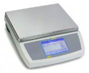 Balance de contrôle emballages - Grand écran tactile. Portée max : 60 kg