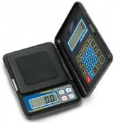 Balance de poche avec calculatrice - Dimensions L x P x H mm : 85 x 130 x 25