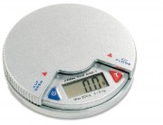 Balance de poche avec plateau rotatif - Dimensions Ø x H:  80 x 14 mm