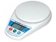Balance électronique de cuisine - Précision : 0.5 à 1 g - Dimensions (l x H x P) : 15 x 3.8 x 21.5 cm